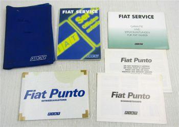 Fiat Punto 188 Betriebsanleitung Bordmappe Bedienungsanleitung Serviceheft 2001