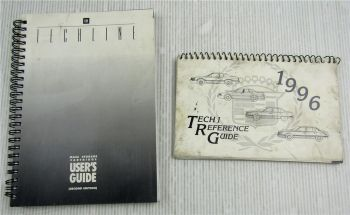 Cadillac Tech1 Reference Guide 1996 + GM Techline MSC Users Guide 1992