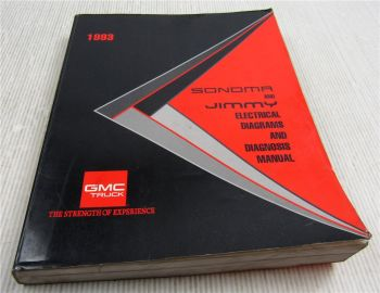 1993 GMC Sonoma Jimmy Truck Electrical Diagrams and Diagnosis Manual