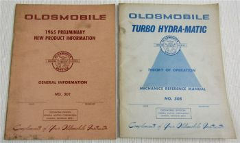 1965 OIdsmobile New Product Information and Turbo Hydra Matic Transmission