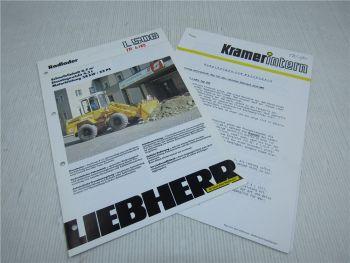 Prospekt Liebherr L 506 Radlader 1989