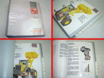 Furukawa Radlader 305E 320E 345 365 375 Verkaufshandbuch aus den 90er Jahren
