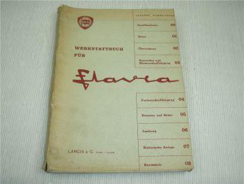 Lancia Flavia 815 819 Werkstattbuch Werkstatthandbuch Reparaturhandbuch