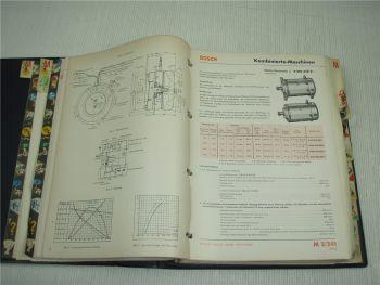 Bosch Katalog Ausrüstung für Kraftfahrzeuge und Motoren Stand 1971