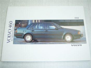 Volvo 460 Betriebsanleitung 1991 Bedienungsanleitung
