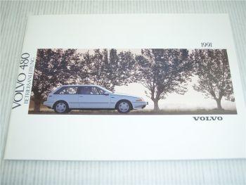 Volvo 480 Betriebsanleitung 1991 Bedienungsanleitung