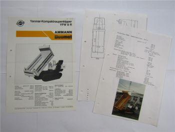Prospekt Ammann Duomat YFW 8R Kompaktraupenkipper und technische Daten