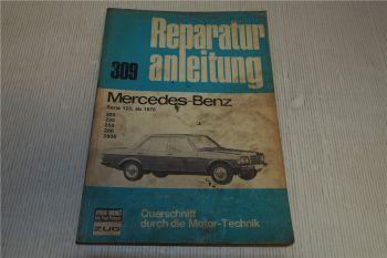 Mercedes Benz 200 230 250 280 280E W123 Reparaturanleitung ab 1976