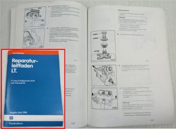 Reparaturleitfaden VW LT 4 Gang Getriebe 015/I Achsantrieb Kupplung Welle