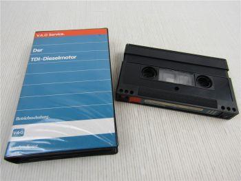 VAG Betriebsschulung Video VW TDI Dieselmotor Einstellarbeiten Fehlersuche 1990