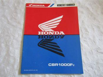 Honda CBR1000Ft Ergänzung zum Werkstatthandbuch Reparaturhandbuch Ausgabe 1995