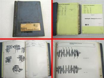 Katalog Audi VW Austauschdienst 1969 - 1991
