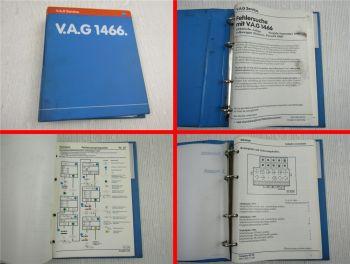 VW Scirocco ab 1979 - 92 Passat 32B Fehlersuche Elektrik mit V.A.G 1466