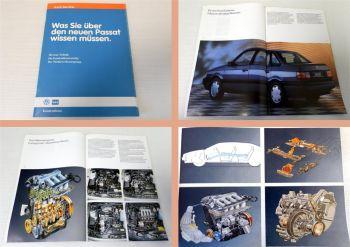 Was Sie über den VW Passat B3 wissen müssen 16V 35i Technik Leistung 1988