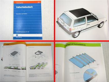 SSP 133 Faltschiebedach VW Polo 2 Beach Typ 86C ab 1990 Selbststudienprogramm