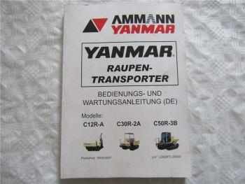 Yanmar C12R-A C30R-2A C50R-3B Betriebsanleitung Bedienung und Wartung 4/2007