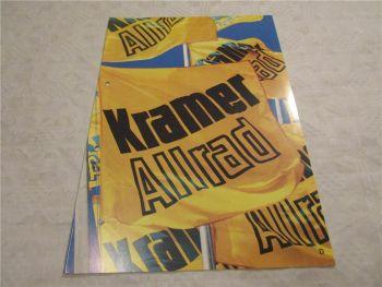 Prospekt Kramer Allrad Radlader 112SL 314T 212LT 312LE 312SL 512SL 416S 516