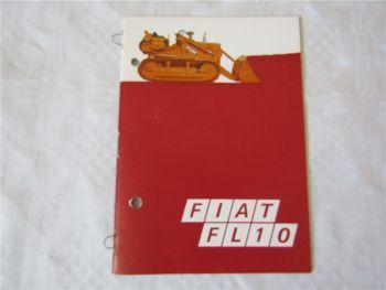 Fiat FL10 Laderaupe Technische Daten mit Verkaufsargumenten / Vergleich Cat Case