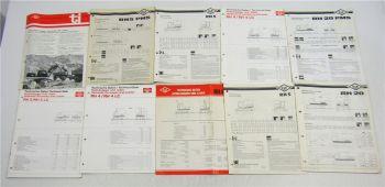 9x O&K Technische Daten Hydrobagger Hydrolader und Information Kundendienst
