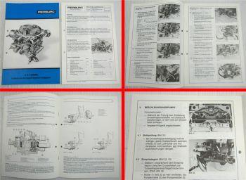 Pierburg 32/44 32/54 4A1 BMW M60 320/520 M68 525/528/630/128/730 Service Informa