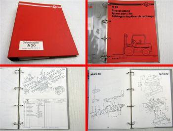 O&K A30 B Ersatzteilliste Spare Parts Catalogue de pieces de rechange