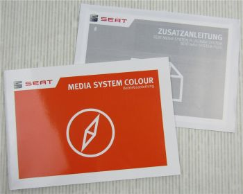 Seat Betriebsanleitung Bedienung Media System Coulour 5/2015+ Zusatz Navi System