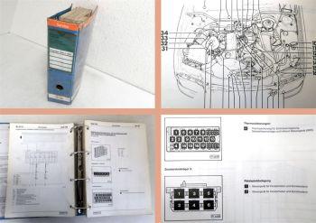 Audi 100 C4 Stromlaufpläne Schaltpläne Elektrik 1991 1992 Reparaturleitfaden