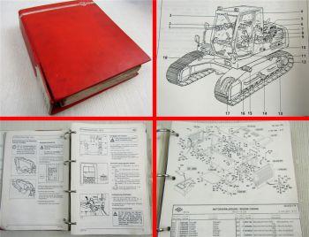 O&K RH9 PMS Betriebsanleitung Ersatzteileliste Schaltplan Inspektion Wartung