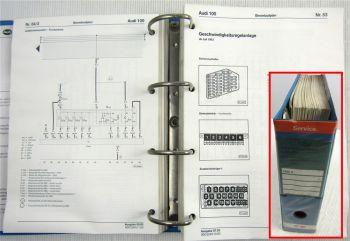 Reparaturleitfaden Audi 100 C4 1993 94 Stromlaufpläne Elektrik Werkstatthandbuch