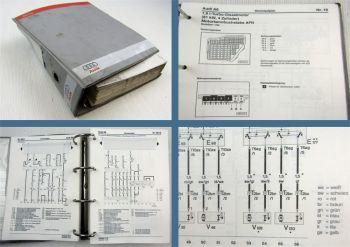 Reparaturleitfaden Audi A6 C5 Typ 4B 1998 1999 Stromlaufpläne Werkstatthandbuch