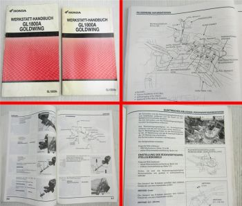Werkstatthandbuch Honda GL1800A Goldwing Reparaturanleitung von 2001-2002