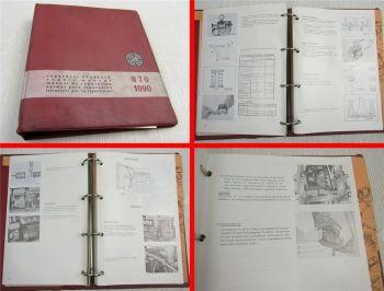 Steyr 870 1090 Traktor Reparaturhandbuch Werkstatthandbuch Instandsetzung 1970