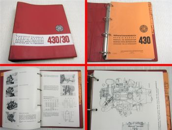 Steyr 430 30 Traktor Reparaturhandbuch Werkstatthandbuch 1969