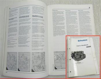 Perkins Engine 1000 Series AA-AH YA-YD Users Handbook Manual Del Usuario 1998