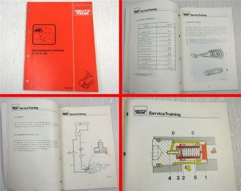 Deutz 07, 07 C, DX hydrostatische Lenkung Schulung Service Training 1984