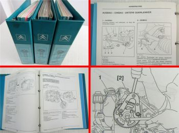 Reparaturanleitung Citroen Xsara Picasso Werkstatthandbuch Mechanik ab 1997