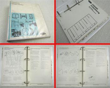 Werkstatthandbuch Ford PKW + Transit Prüfanleitung FDS2000 1994-1997