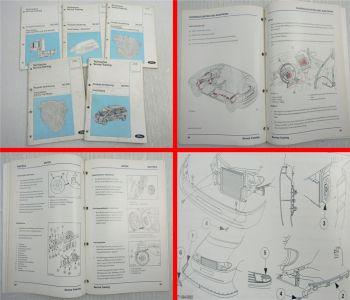Ford Galaxy WGR V6 TDI Motor AG4 Getriebe Karosserie Produkteinführung ab 1995