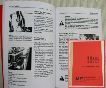 Massey Ferguson MF 233 253 263 273 283 293 + A Betriebsanleitung