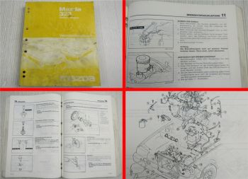 Reparaturanleitung Mazda 323 Kombi Typ BW Werkstatthandbuch 1986