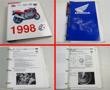 Honda VFR800 FI FES 250 125 CBR900RR Fireblade PGM FI DCBS Training 1998