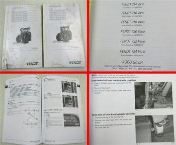 Fendt 714 716 718 720 722 724 Vario Profi ProfiPlus Operators Manual 2014/15