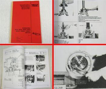 Deutz SM 35 40 50 55 40F 50F 55F 40CR Werkstatthandbuch