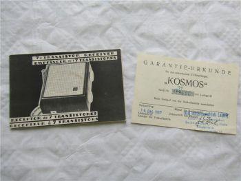 7 Transistor Receiver Empfänger mit 7 Transistoren Bedienungsanleitung UdSSR