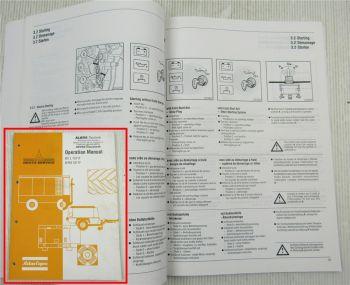 Atlas Copco Operation Manual Deutz for B FL FM 1011F Bedienungsanleitung