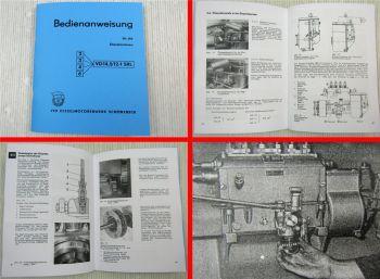 2/3/4/6 VD14,5/12-1 SRL Motor Betriebsanleitung 1976