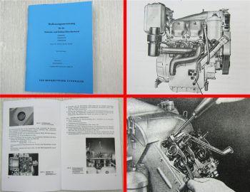1 KVD 8SL 2/4 KVD 8SVL Dieselmotor Betriebsanleitung 1967