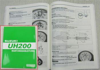 Suzuki UH200 K7 Werkstatthandbuch Wartungsanleitung Reparaturanleitung 2006