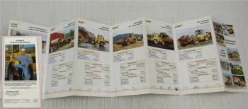 Prospekt Zettelmeyer RadladerZL302 - 1002 Serie C und Si i von 3/1997
