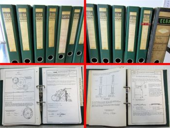 Deutz Technische Rundschreiben 1953 - 1980 Traktoren Raupen Motoren